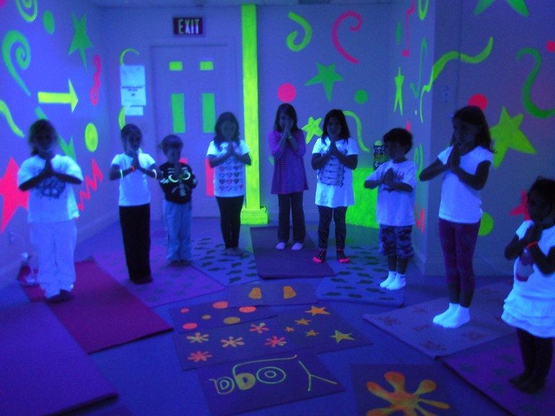 GLOWING YOGIS